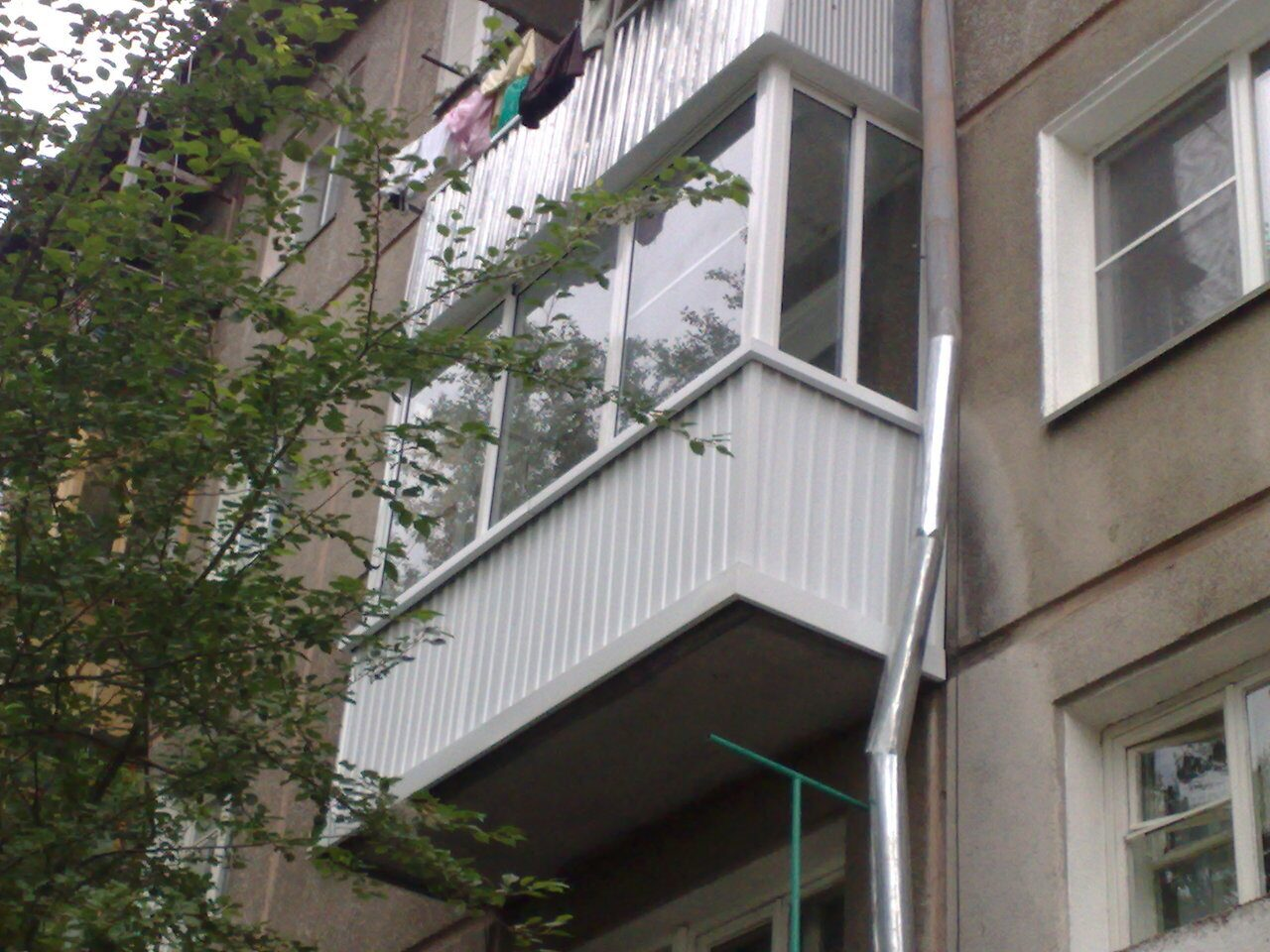 Нагрузка на балкон в хрущевке..