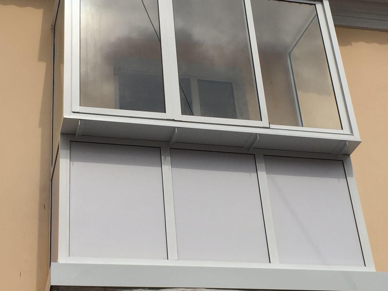 Лоджии и балконы.