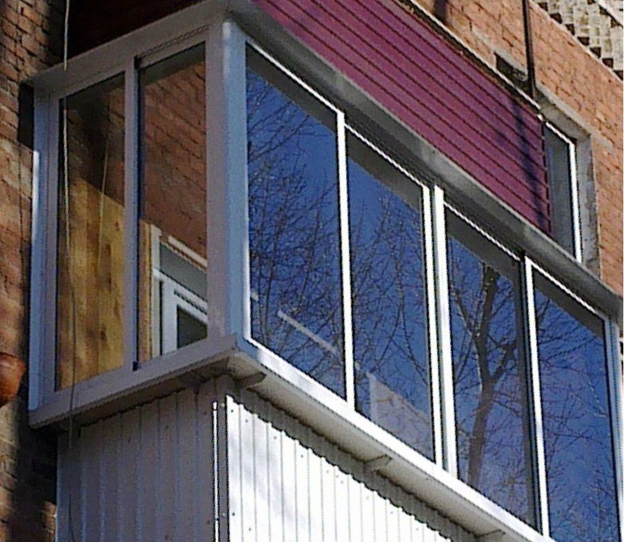Выносное остекление балконов и лоджий быстро и качественно п.