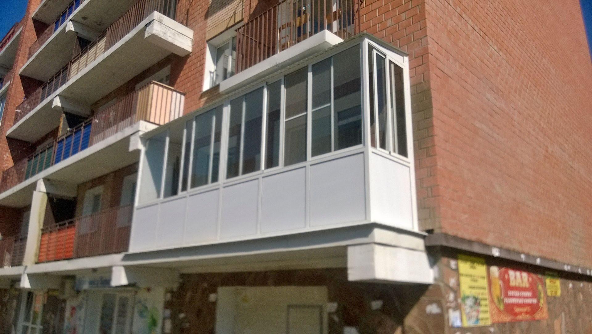 Застеклить балкон лоджию остекление балконов лоджии под ключ.